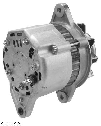 123120HI - Alternator - Hitachi type 35 Amp, 12 Volt, CW, 1-Groove ...