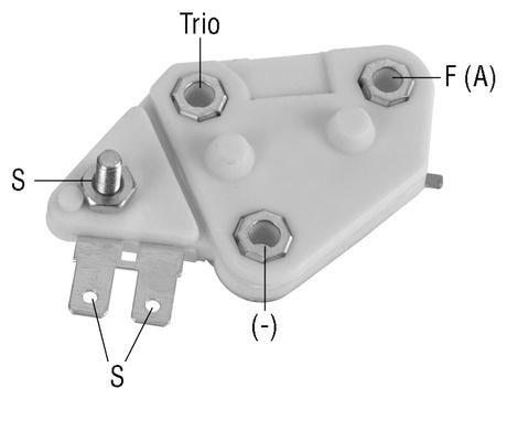 d33 regulator 12 volt a circuit 14 1 vset for delco type. Black Bedroom Furniture Sets. Home Design Ideas