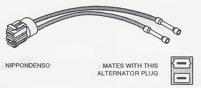C1500 Nippondenso Alternator Wiring on