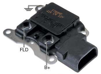 Fhd Voltage Regulator Heavy Duty  Volt A Circuit I S A Terminals   Vset For Ford G Series Alternators