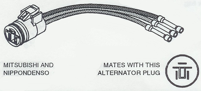 alternator wiring harness connectors for import vehicles imports