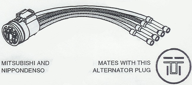 ALL Alternator Connection Wiring Products