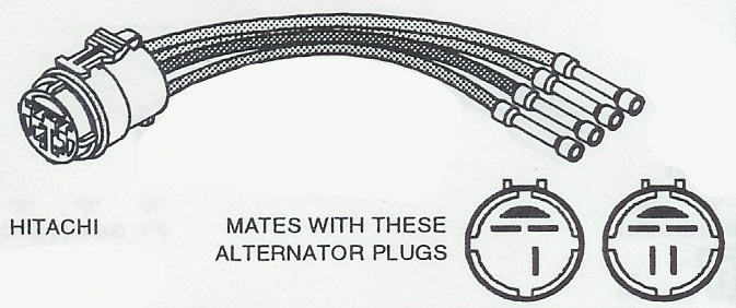 round plug wiring harness connectors
