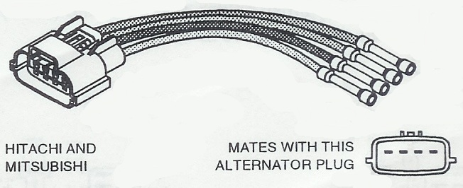 prestolite alternator wiring diagram marine images pin hitachi alternator wiring