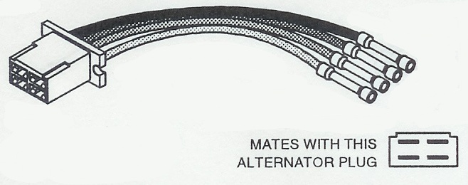 alternator wiring harness connectors for import vehicles