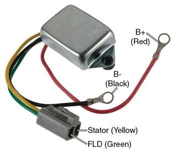 d7012 voltage regulator  10dn series alternators  12v
