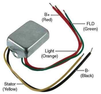Part # D7024 - Conversion Voltage Regulator 12 Volt, B-Circuit, 14.2 ...