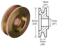 2411001 - 1-Groove Pulley