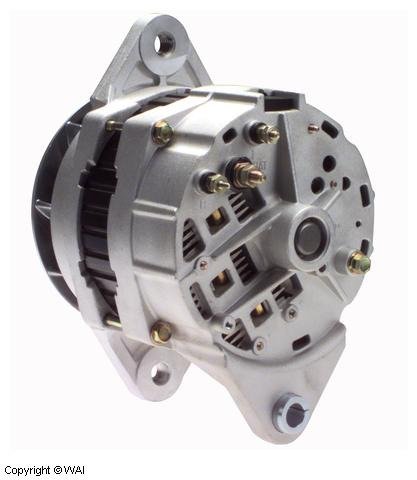 Delco Remy Alternator >> 1191500dr1 Alternator Delco Remy Type Without Pulley