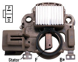 IM345 Voltage Regulator / Brush Holder Assembly For ...