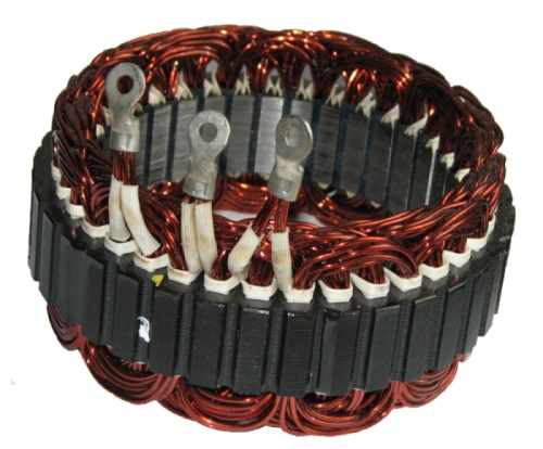 Usa 1 Auto Sales >> CS144 Series Alternator 200 Amp High Output Stator
