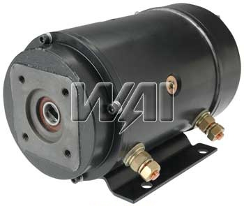826879 motor pump 12 volt cw slotted shaft used on for 12 volt hydraulic pump motor