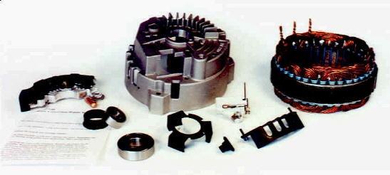 "General Auto Parts >> D17140 - 140 Amp CS130 Series ""Iceberg"" Upgrade"