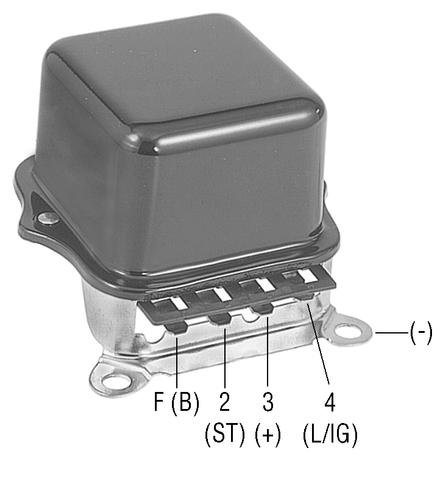 Part # D9212S - Heavy Duty SS Voltage Regulator for Delco Type ...