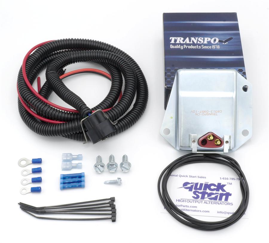 External Voltage Regulator : Erck external voltage regulator kit chrysler dodge jeep