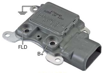 F Hd on 1989 Ford Alternator Voltage Regulator