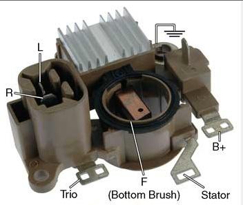 im293 voltage regulator brush holder assy for. Black Bedroom Furniture Sets. Home Design Ideas