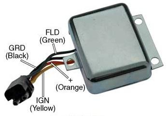 m5228a voltage regulator, for motorola prestolite 8al series alternators, 12 volt, b circuit, 14 1 volt set point , adjustable voltage  motorola voltage regulator wiring diagram #11