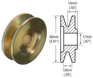241109 - 1-Groove V-Belt Pulley