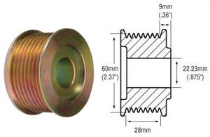 # 241755 - 8-Groove Pulley