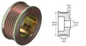 241250 - 6-Groove Pulley