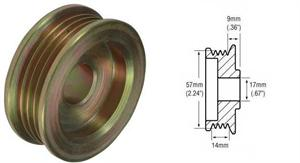 241252 - 4-Groove Pulley