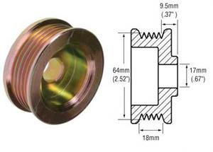 # 241284 - 5-Groove Pulley
