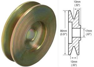 242100 - 1-Groove Pulley