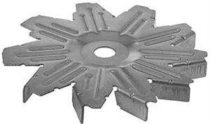 # 25106 - Ford type 1G Large Case& Delco-Remy type 27Si type 100 Alternator  Fan
