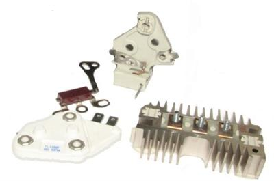 Part # D110SiSE8VCKP - 8 Volt Positive Ground Self Exciting (One Wire)  Alternator Conversion/Repair Kit for 10Si Series Alternators