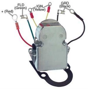 # M5237A Voltage Regulator Motorola / Prestolite 8SA, Load Handler LHA  Series Alternators