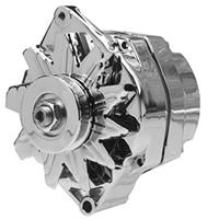 Part # D110SiSE12V140C - Chrome Delco type 10Si Series 12 Volt 140 Amp Self Exciting (One-Wire) Alternator 100% New No Core Charge  sc 1 st  High Output Alternators Starters Parts and More - Alternator Parts : 10si alternator wiring - yogabreezes.com